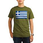 Greece Organic Men's T-Shirt (dark)