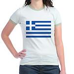 Greece Jr. Ringer T-Shirt