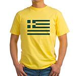 Greece Yellow T-Shirt