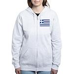 Greece Women's Zip Hoodie