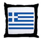 Greece Throw Pillow