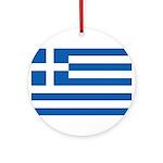 Greece Ornament (Round)