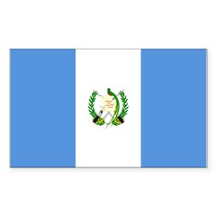 Guatemala Sticker (Rectangle)