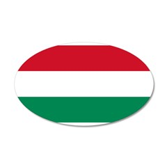 Hungary 22x14 Oval Wall Peel