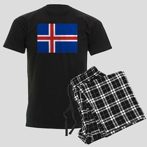 Iceland Men's Dark Pajamas