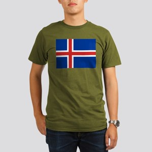 Iceland Organic Men's T-Shirt (dark)