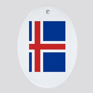 Iceland Ornament (Oval)