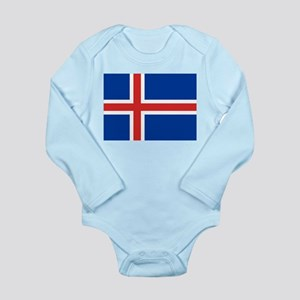 Iceland Long Sleeve Infant Bodysuit