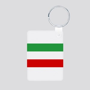 Iran Aluminum Photo Keychain