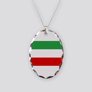 Iran Necklace Oval Charm