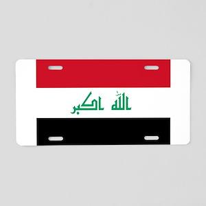 Iraq Aluminum License Plate