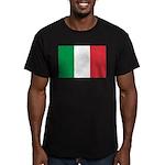 Italy Men's Fitted T-Shirt (dark)