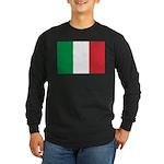 Italy Long Sleeve Dark T-Shirt