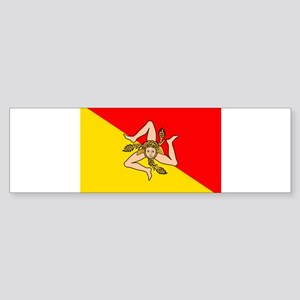 Sicily Sticker (Bumper)