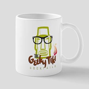 """""""The Geeky Tiki"""" Large Mugs"""