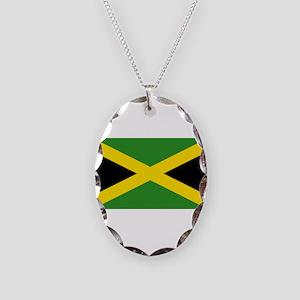 Jamaica Necklace Oval Charm