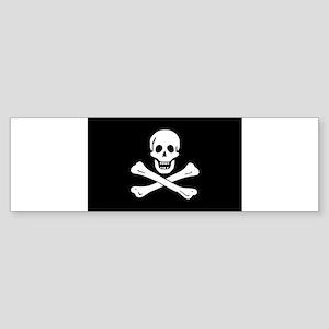 Jolly Roger Sticker (Bumper)