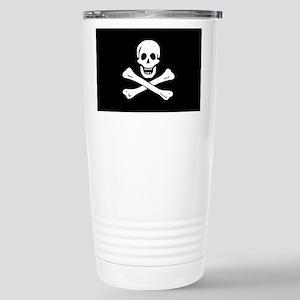 Jolly Roger Stainless Steel Travel Mug