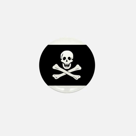 Jolly Roger Mini Button