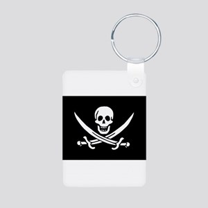 Calico Jack Rackham Jolly Rog Aluminum Photo Keych