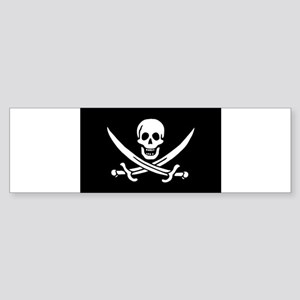 Calico Jack Rackham Jolly Rog Sticker (Bumper)
