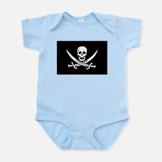 Calico Jack Rackham Jolly Rog Infant Bodysuit