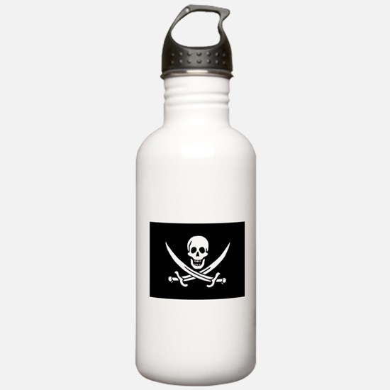 Calico Jack Rackham Jolly Rog Water Bottle
