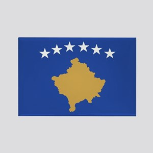 Kosovo Rectangle Magnet