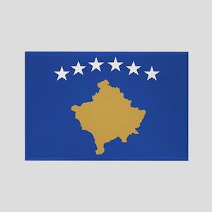 Kosovo Rectangle Magnet