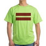 Latvia Green T-Shirt