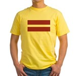 Latvia Yellow T-Shirt
