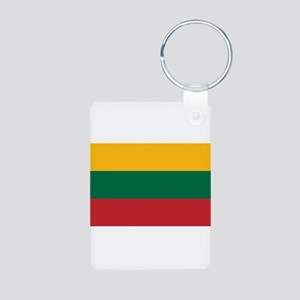 Lithuania Aluminum Photo Keychain