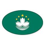 Macau Sticker (Oval 50 pk)