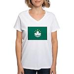 Macau Women's V-Neck T-Shirt