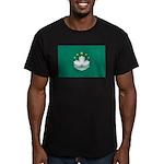 Macau Men's Fitted T-Shirt (dark)