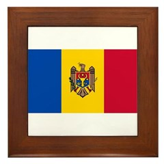 Moldova Framed Tile