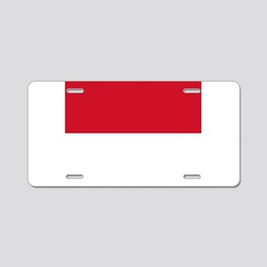 Monaco Aluminum License Plate