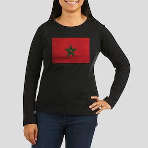 Morocco Women's Long Sleeve Dark T-Shirt