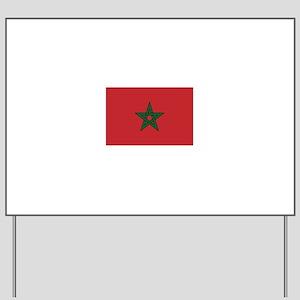 Morocco Yard Sign