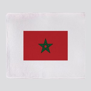 Morocco Throw Blanket