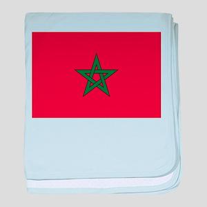 Morocco baby blanket