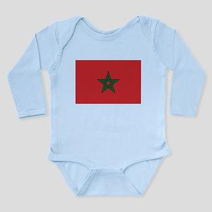 Morocco Long Sleeve Infant Bodysuit