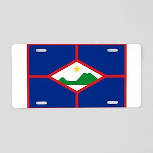 Sint Eustatius Aluminum License Plate