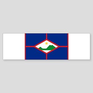 Sint Eustatius Sticker (Bumper)