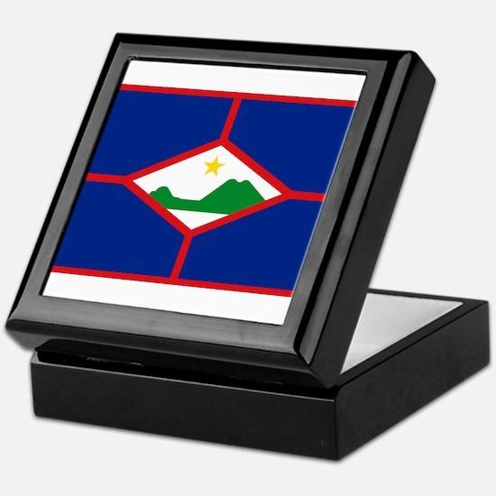 Sint Eustatius Keepsake Box