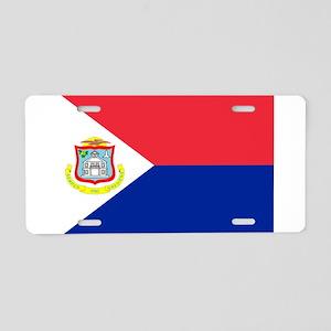 Sint Maarten Aluminum License Plate