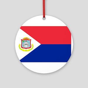 Sint Maarten Ornament (Round)