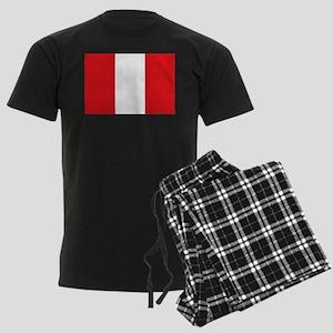 Peru Men's Dark Pajamas