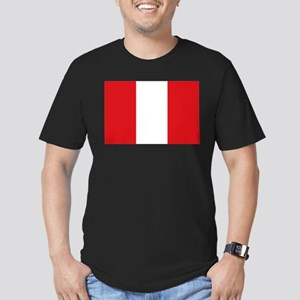 Peru Men's Fitted T-Shirt (dark)