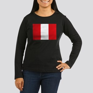 Peru Women's Long Sleeve Dark T-Shirt